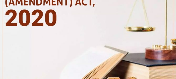 Section 23 and section 45 of Companies (Amendment) Act, 2020