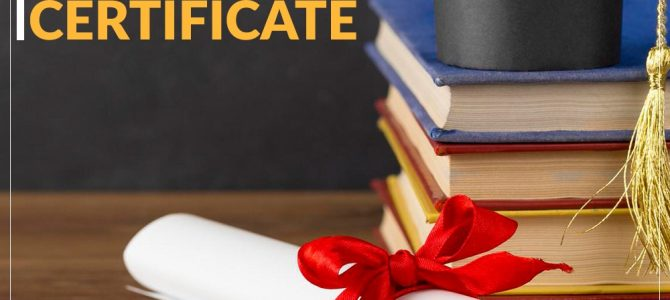Splitting Of Share Of Certificate